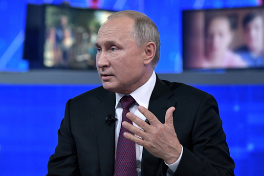 Владимир Путин: «Прямая линия– это шоу спецслужб? Уверяю вас, нет»