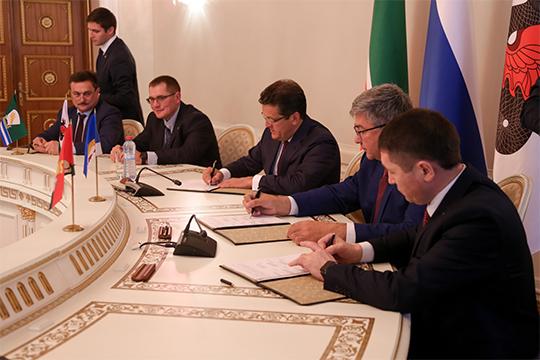 Воктябре 2018 года вКазани было подписано межмуниципальное соглашение осоздании Совета Казанской агломерации, получившего статус консультативного органа