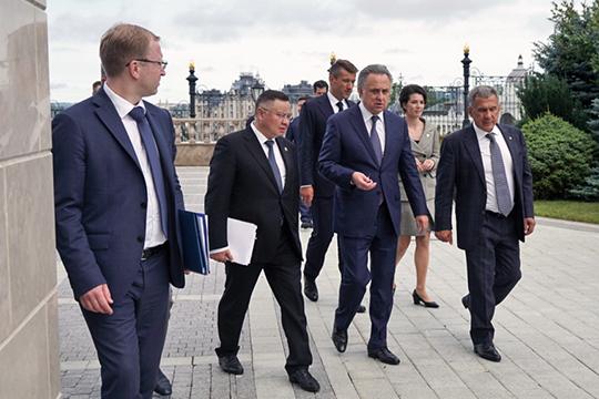 Большую деловую программу в Казани провел зампредседателя правительства РФ Виталий Мутко
