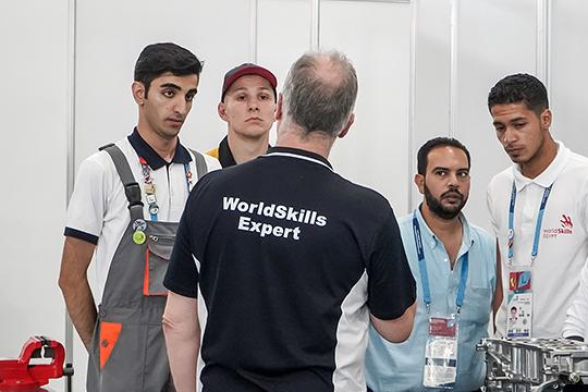 Были выделены средства на проведение в Казани только что завершившегося мирового чемпионата по профессиональному мастерству по стандартам WorldSkills