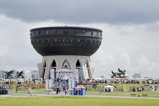 «Центр семьи «Казан» очень большой, я внутри не был, не знаю, насколько функциональный, но этот «Казан» стал настоящим символом города»