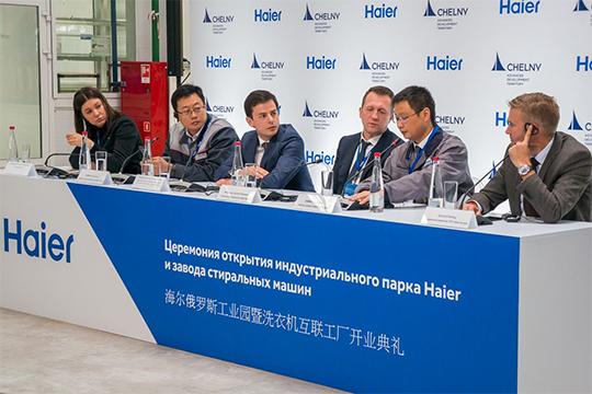 У Китая, который месяц назад открыл новый завод стиральных машин Haier в Челнах, пока четвертое место, но у этой страны есть все шансы вырваться на «призовые» позиции