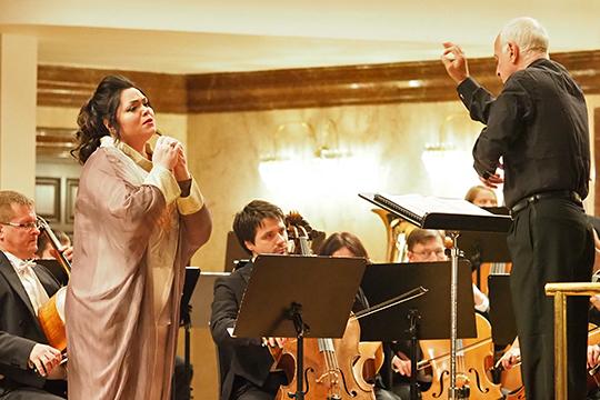 Второй день фестиваля состоялся 27 сентября, в нем приняли участие выпускники центра оперного пения Галины Вишневской разных лет