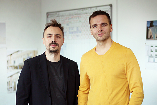 Дмитрий Куликов и Евгений Жирков: «Партнерство сформировалось, наверное, еще на этапе совместной работы над конкурсами, а желание свободы творчества стало основой для DE Architects»