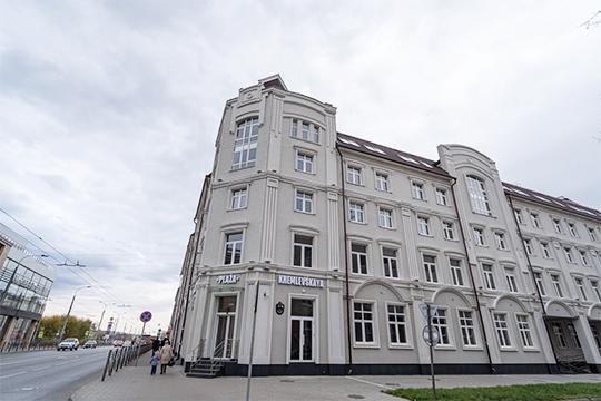 Офисный центр «Кремлевская Плаза» наул.Московская нижнекамской компании «Даймонд» ресторатораАлмаза Хуснуллина
