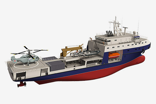 Зеленодольцы спроектировали для военных необычный танкер проекта 03182