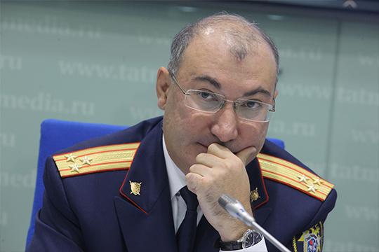 Айрата Ахметшина долгое время называли ключевым кандидатом на должность главного следователя Татарстана
