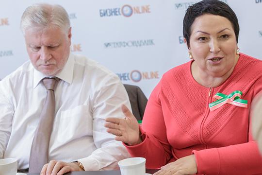Как говорят, в сентябре председатель «Справедливой России» Сергей Миронов довольно жестко поговорил с Рушанией Бильгильдеевой и сделал ей предупреждение