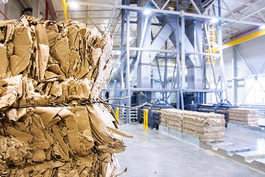 Появилась наКБК иполностью новая линия попроизводству гофротары для крупногабаритной упаковки. Оборудование поставили итальянцы