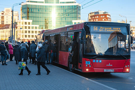 C 1 января 2020 года стоимость проезда в казанском автобусе, троллейбусе и трамвае при приобретении билета в салоне за наличку или банковской картой поднимется с 27 до 30 рублей