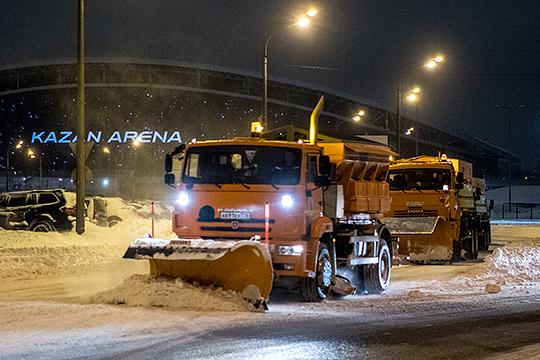 Городская снегоуборочная техника в количестве 550 единиц находится полной готовности, на случай аномальных снегопадов заключены договоры на привлечение еще 400 единиц уборочной техники