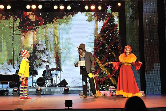 Музыкальный спектакль «Новогодние приключения Буратино»