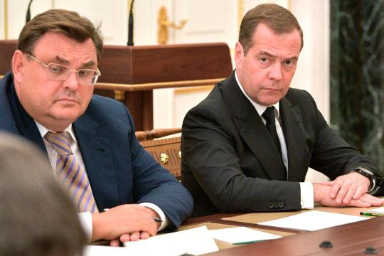 Фактически медведевский человек в правительстве остался только один — Константин Чуйченко