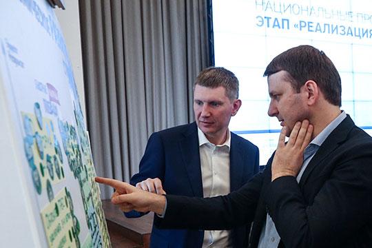 37-летнего Максима Орешкина (справа), который, скорее всего, уходит помощником к Путину, сменил 40-летний Максим Решетников (слева)
