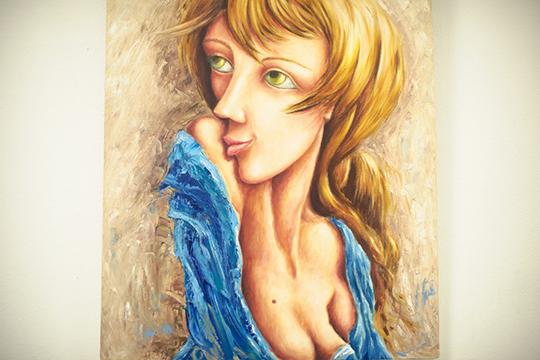 «Вмоих картинах есть элементы икубизма, ипостмодернизма, экспрессионизма, ит.д. Живопись так многообразна, что замыкать себя внекие рамки нехочется инеможется»