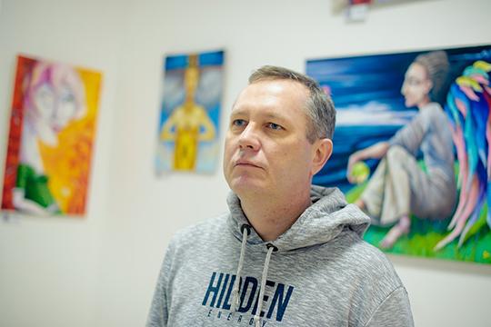 Андрей Полунин:«Сейчас такое время, что без выставок художнику очень сложно придется. Нужна узнаваемость, даипродажи, соответственно. Мои работы начали покупать спервой выставки»