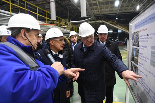 «КИП «Мастер» подготовил иввел 6-ю очередь Камского индустриального парка «Мастер»— это один изкрупнейших промпарков вЕвропе»,— перечислял Минниханов