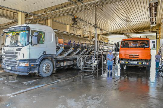 Республика Татарстан занимает первое место вРоссии попроизводству сырого молока— 1,89млн тонн поитогам 2019 года. Вовсех категориях хозяйств насчитывается более 1млн голов КРС, втом числе 344,6тыс. коров
