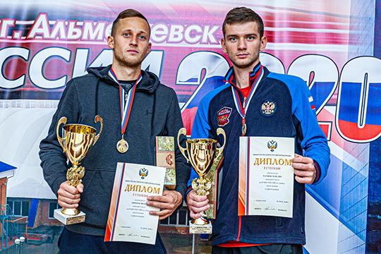 Тимур Киямов и Максим Ратнюк