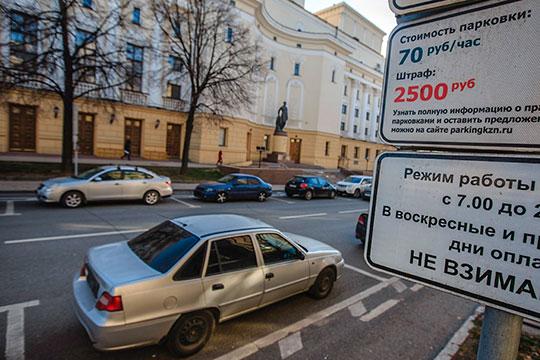 «Вынуждаем оставлять автомобили ненадолго»: топовые парковки подорожали до100 рублей/час