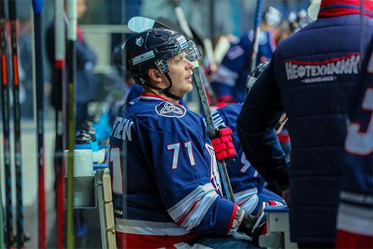 Лучший снайпер КХЛ играет в«Нефтехимике». Откуда онвзялся?
