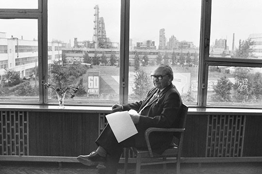 Николай Васильевич Лемаев.Нижнекамск. 18 октября 1982 г.