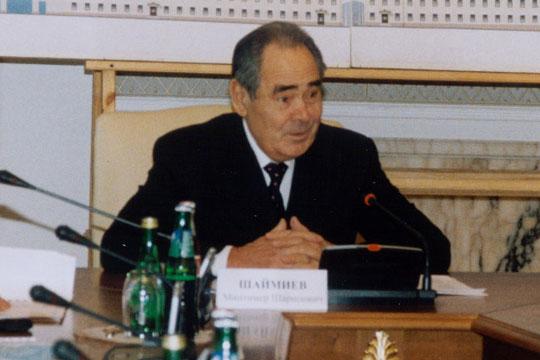 «Когда начался чеченский конфликт, Минтимер Шаймиев выступил против всего того, что творилось в Чечне»