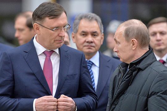Резко усилил политические позиции гендиректор ПАО «КАМАЗ»Сергей Когогин (слева)
