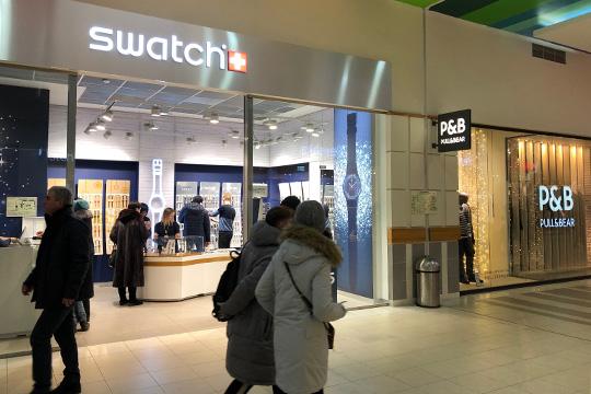 В «Парк Хаусе» появились новые арендаторы— Swatch, «Консул», Lady Collection
