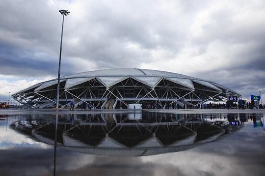 Долги уПСО «Казань»образовались всвязи сзадержками выплат построительству двух стадионов вСамаре (на фото) иСаранске, которые возводились кмундиалю-2018