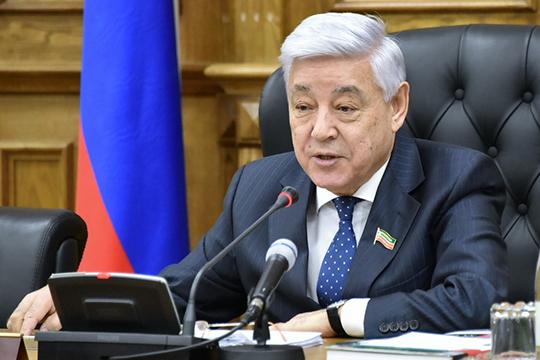 Спикерсчитает, что санкции нанашу республику влияют даже больше, чем надругие субъекты, так как 60% продукции Татарстан реализует наэкспорт