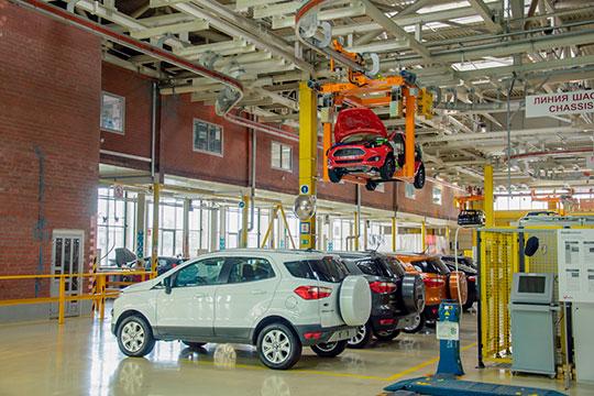ООО«Форд Соллерс Холдинг»— номер три среди компаний РТпоразмеру убытка за2017 год, аесли отбросить госкомпании, то«Форд» ивовсе «чемпион»