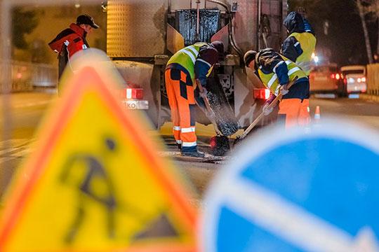 Исполком Челнов разместил заявку навыполнение работ посодержанию дорог, подземных переходов итехнических средств дорожного регулирования