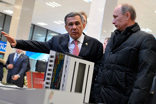 10 интриг визита Путина: заглянетли онвИннополис и«отмолит» лиМинниханов«долевку»?