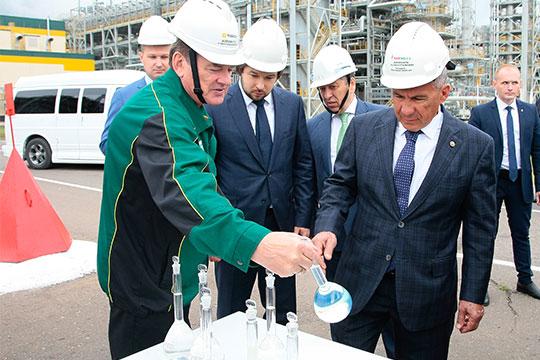 ВНижнекамске готов кторжественному запуску комплекс повыпуску автомобильного бензина, вкоторый вложено 19,3млрд рублей
