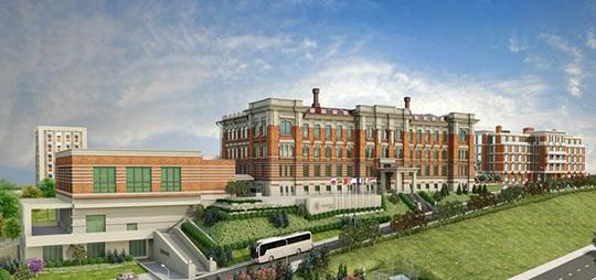 Вцелом утвержден облик второго блока 5-звездной гостиницы Kazan Palace byTasigo уШамовской больницы