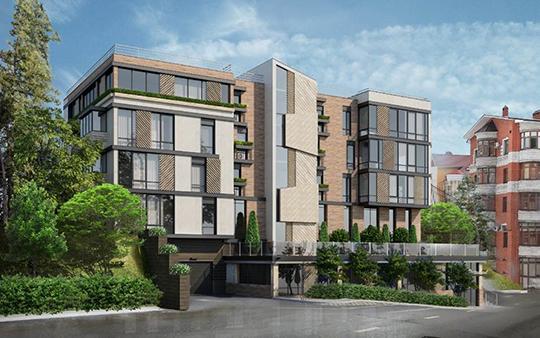 Утвердили внешний вид будущего 4-этажного жилого дома поулицамТельмана иКасаткина
