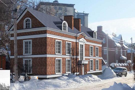 Прошел комиссию красный трехэтажный особнякпоулице Щепкина, который уже рассматривался ранее