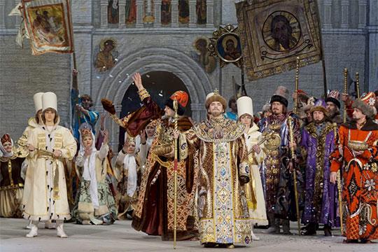 Традиционным «Борисом Годуновым» отметили 13 февраля день рождения Федора Шаляпина на оперном форуме имени нашего легендарного земляка