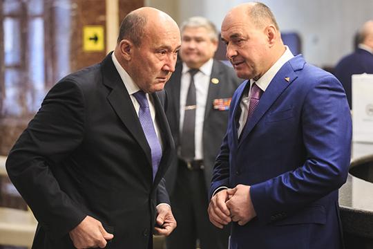Бывшая «мусинская» земля может представлять интерес, например, для«Акбарс холдинга»Ивана Егорова (справа)