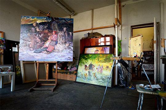 «Хочешь — не хочешь, нарисовал 500 картин, тебя это уже выводит на дорожку духовного развития, не религиозного, а саморазвития, самопознание»