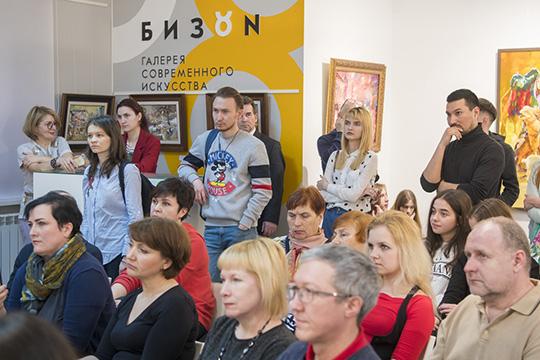 Наследующий день вгалерее современного искусства «БИЗON» прошел гала-концерт IVМеждународного фестиваля «Всемирный День Поэзии»