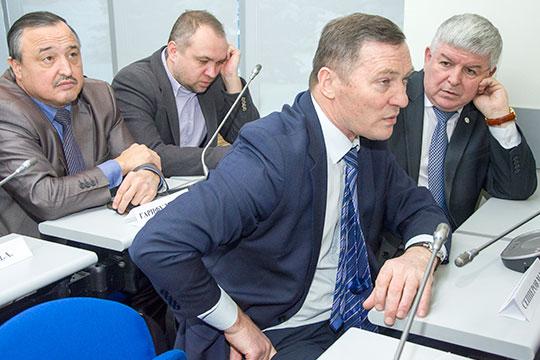 Минназым Сепперов (на переднем плане)возглавит службу национального вещания ГТРК «Татарстан»