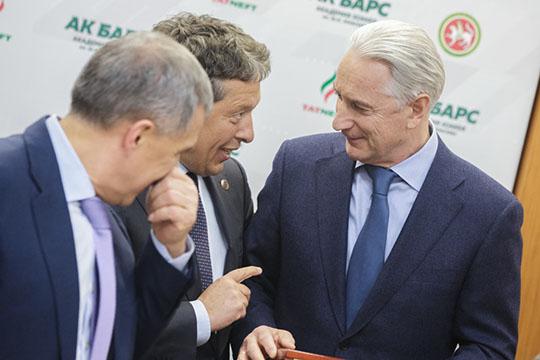 Наиль Маганов: «Билялетдинов остается всистеме клуба надолжности почётного президента Академии хоккея «АкБарс» имени Ю.И.Моисеева»