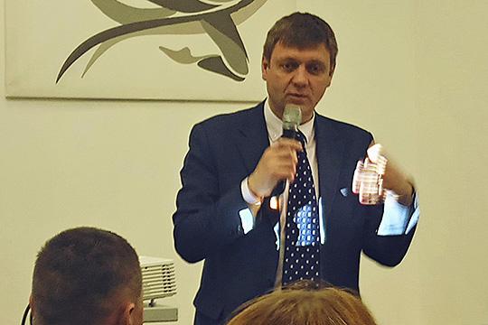 Сергей Пархоменко:«Унас напредприятии больше 60% молодежи. Да, предприятие будет стареть. Новсе предусмотреть невозможно»