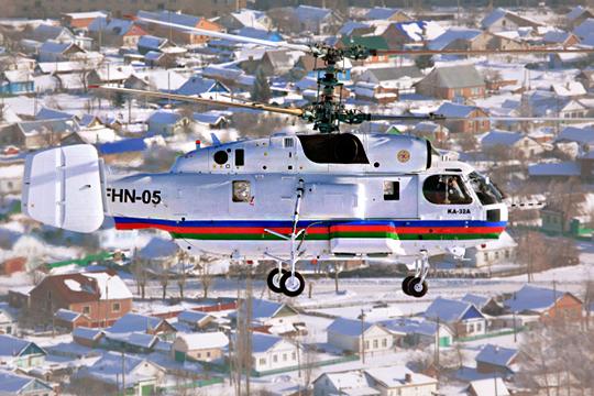 Причина внебольших объемах (8-12 машин вгод) продукции— серьезного спроса натакие специфические вертолеты, как Ка-226, атакже Ка-32 нет