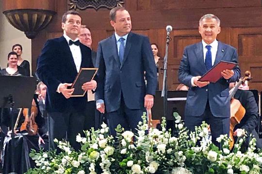 Безусловно, ярким событием недели стал 50-летний юбилей Ильсура Метшина
