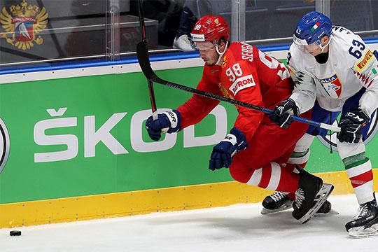 Михаил Сергачев наряду с Динаром Хафизуллиным — один из двух представителей Татарстана на чемпионате мира по хоккею