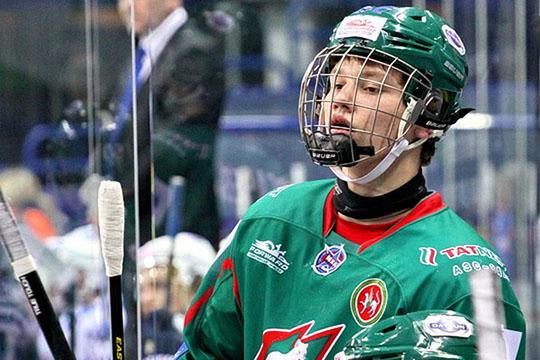 Единственный сезон в Казани Сергачев провел в составе молодежного «Ирбиса»