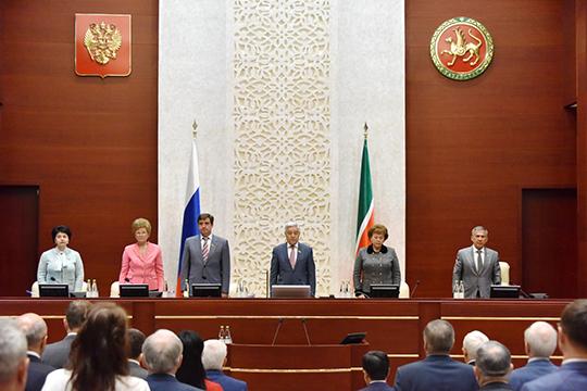 Зашаг доперевыборов депутаты Госсовета Татарстана инициировали ряд законопроектов